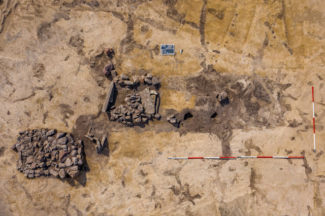 Graves, traces of settlement from Neolithic and Bronze Age found at German limestone opencast mine