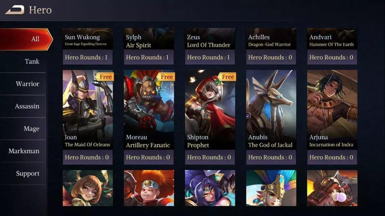 Hero Legend of Ace