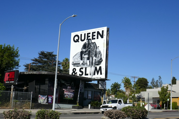 Queen Slim film billboard