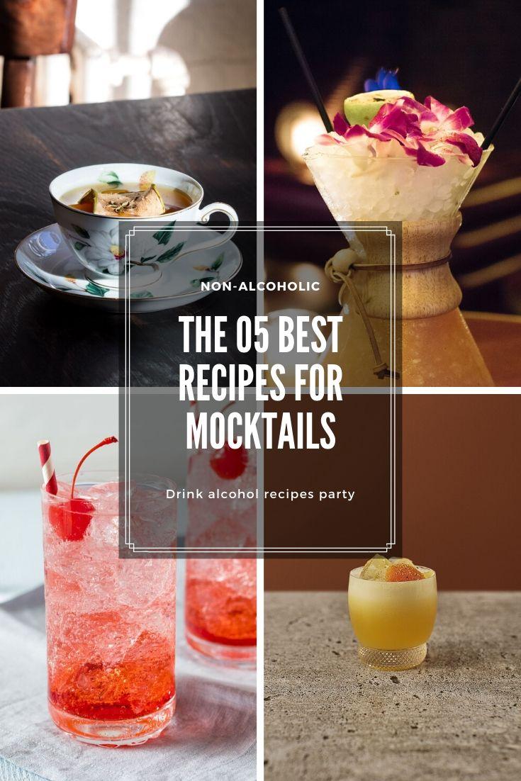 The 5 best recipes for mocktails