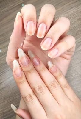 naturalne paznokcie długie i krótkie
