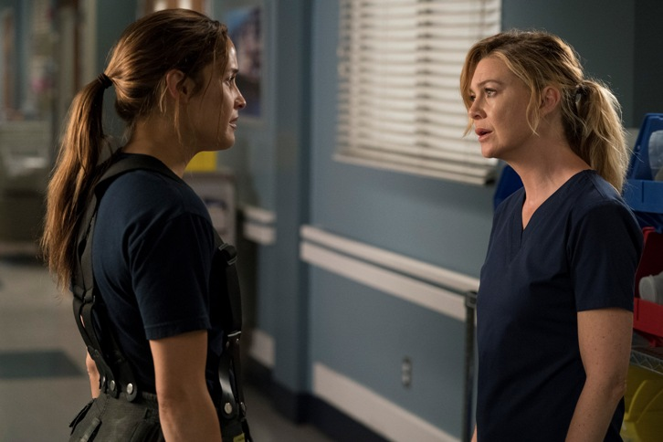 Untitled Grey's Anatomy Firefighter Spinoff - Episode 1.01 - Promotional Photos