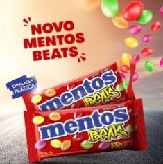 Novo Mentos Beats Embalagem Prática