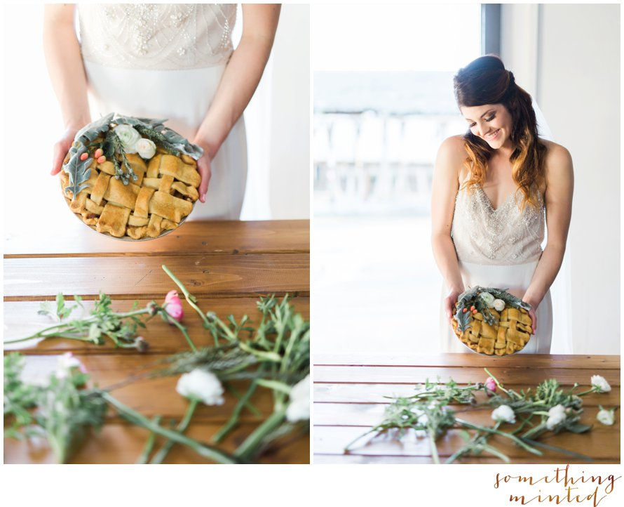 Snohomish Pie Co. Floral Pie Inspiration by Something Minted