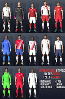 Agylsheva PES 2017 International Kit Pack
