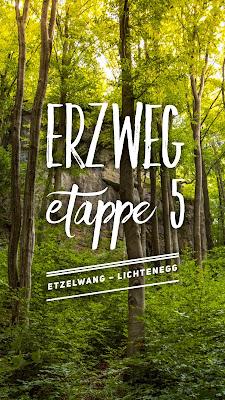 Erzweg Etappe 5 Etzelwang – Lichtenegg | Wandern Amberg-Sulzbacher Land | Weitwanderweg Erzweg Qualitätswanderweg Wanderbares Deutschland