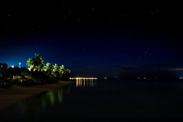 Resort Amari Havodda Maldive-night