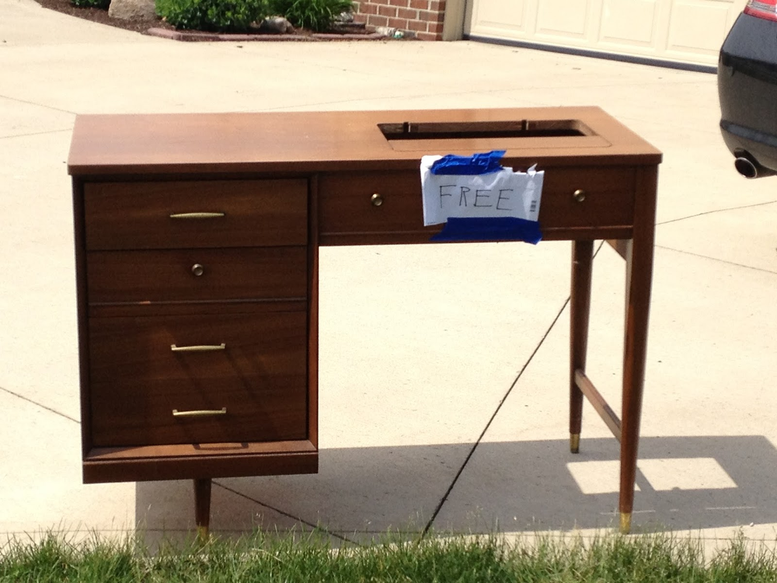 House Envy How Nate Berkus I Revived This Mid Century Modern Sewing Desk