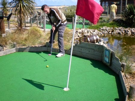 Smugglers Cove Adventure Golf at South Shields, Tyneside