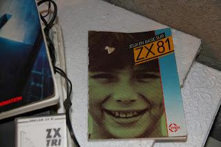 photo livre programation jeux en basic pour ordinateur SINCLAIR ZX81