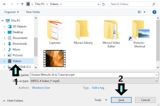 cara powerpoint video