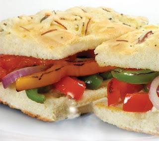 California Grilled Veggie Sandwich Recipe