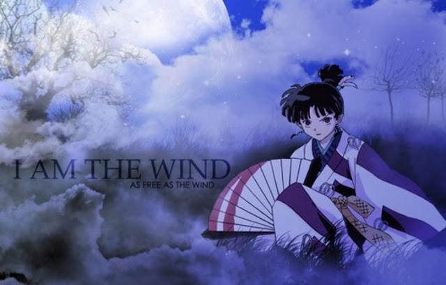 Kagura (Inuyasha) - Karakter Anime Berkekuatan Angin Terkuat