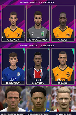 PES 2017 Facepack September 2020 by Dicky