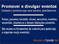 Promover e divulgar eventos