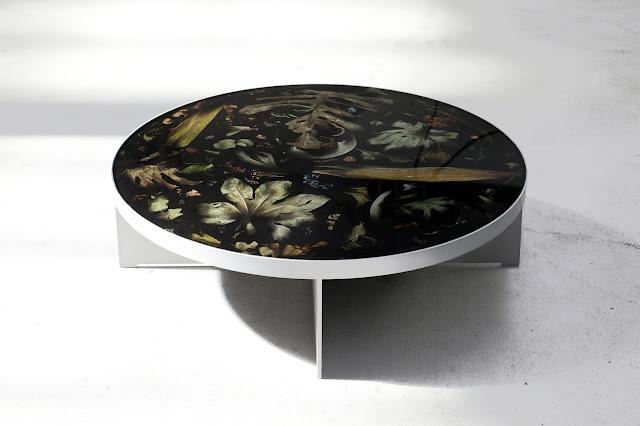 Новости дизайна. Новая коллекция мебели Flora Noir от дизайнера Марцина Русака