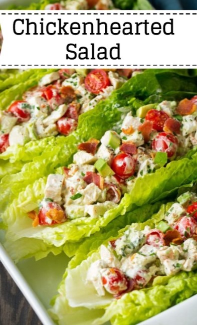 Chickenhearted Salad Lettuce Wraps