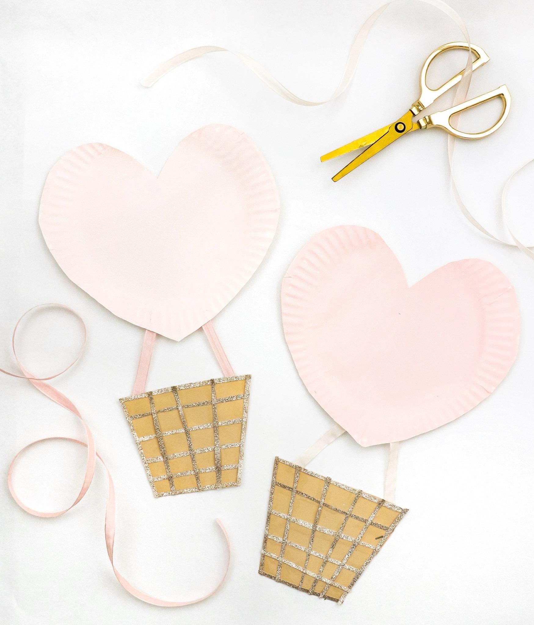 Valentines paper crafts