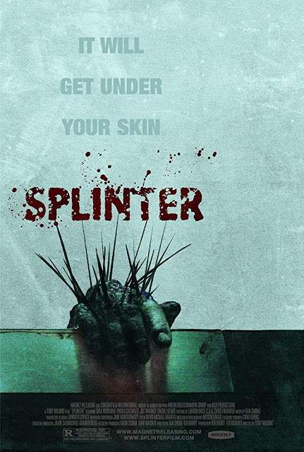 Splinter 2008 horror movie poster