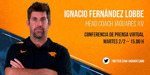 Ignacio Fernández Lobbe, Head Coach de JaguaresXV