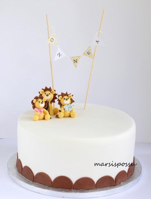 Kakku yhteissynttäreille