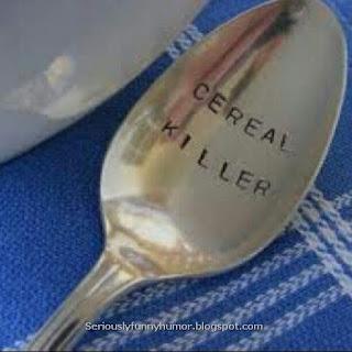 Cereal Killer - funny spoon