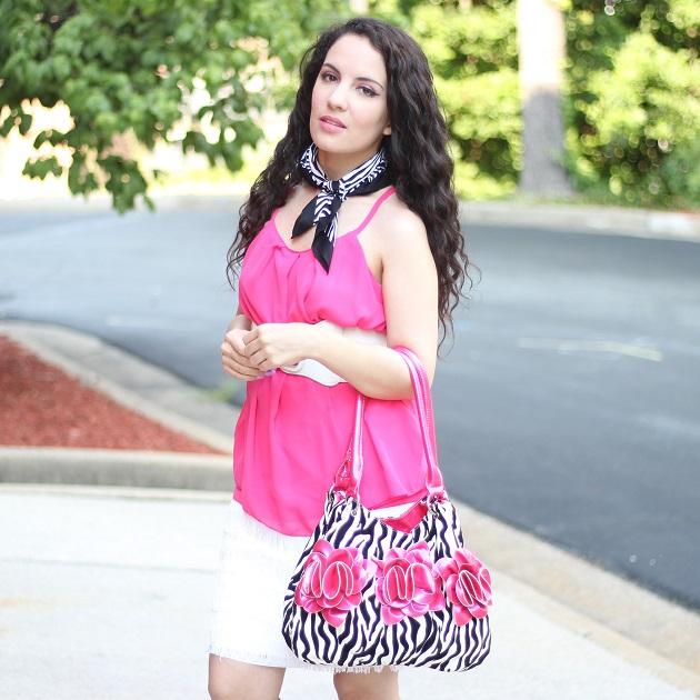 Pink and Zebra Print