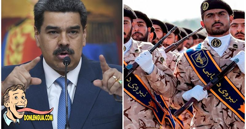 Guardaespaldas iraníes cuidarán a Nicolás Maduro y a su gabinete