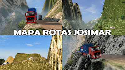 ROTAS JOSIMAR MAP MOD [Extreme and Dangerous Roads Map] for ETS2 1.37