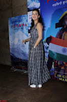 Dia Mirza with Star Cast of MOvie Poorna (3) Red Carpet of Special Screening of Movie Poorna ~ .JPG