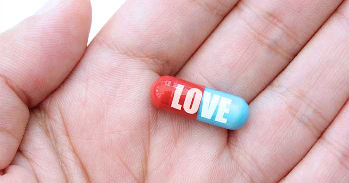 Love is like cocaine