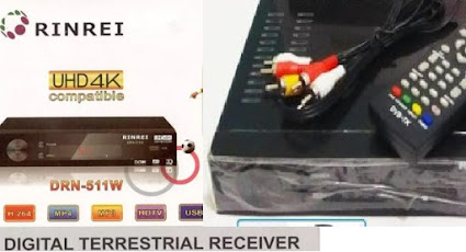 Review Set Top Box TV Digital  Rinrei DRN-511W DVB T2