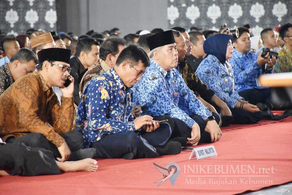 Jelang Pelantikan Presiden, Bupati Kebumen Ikut Rapat Forkopimda Jateng di Semarang