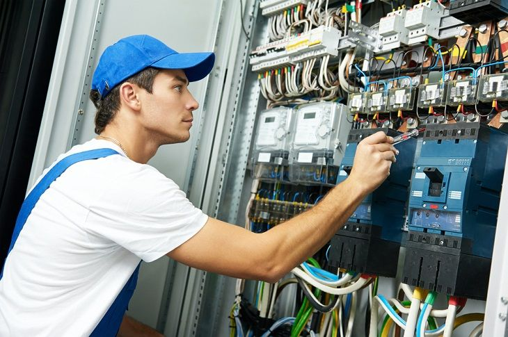 professional electrician in Newcastle