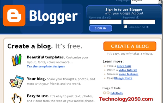 how to start a blog on blogger - how to create a blog - how to make a free blog
