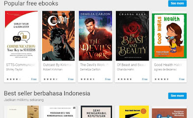 Cara membeli buku di Play Store