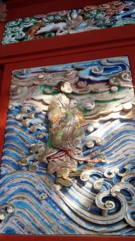 飯縄権現社 彫刻