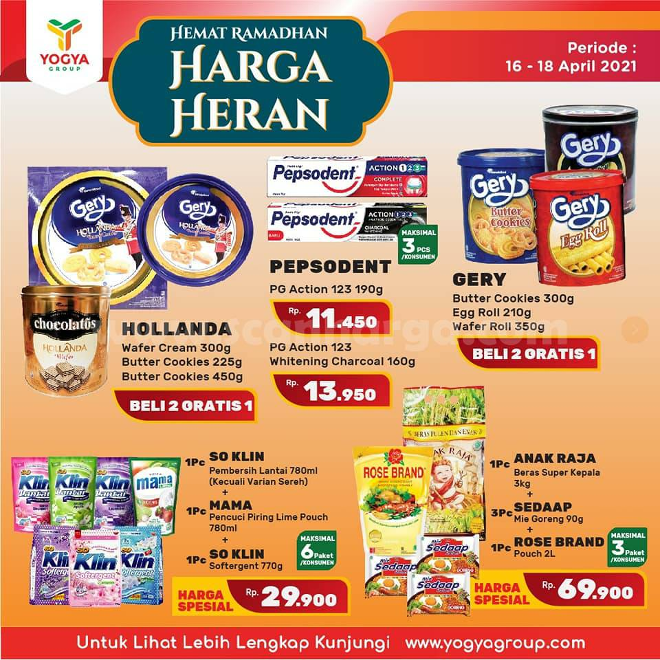 Katalog Promo Toserba Yogya Weekend 16 - 18 April 2021 8