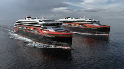Hurtigruten Order 2 New Ships for 2018 - 2019