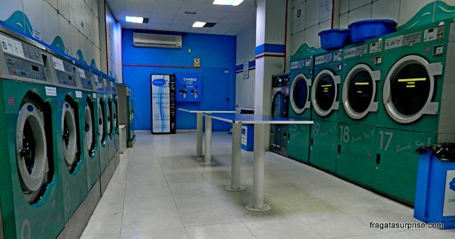 Lavanderia self-service em Chueca, Madri