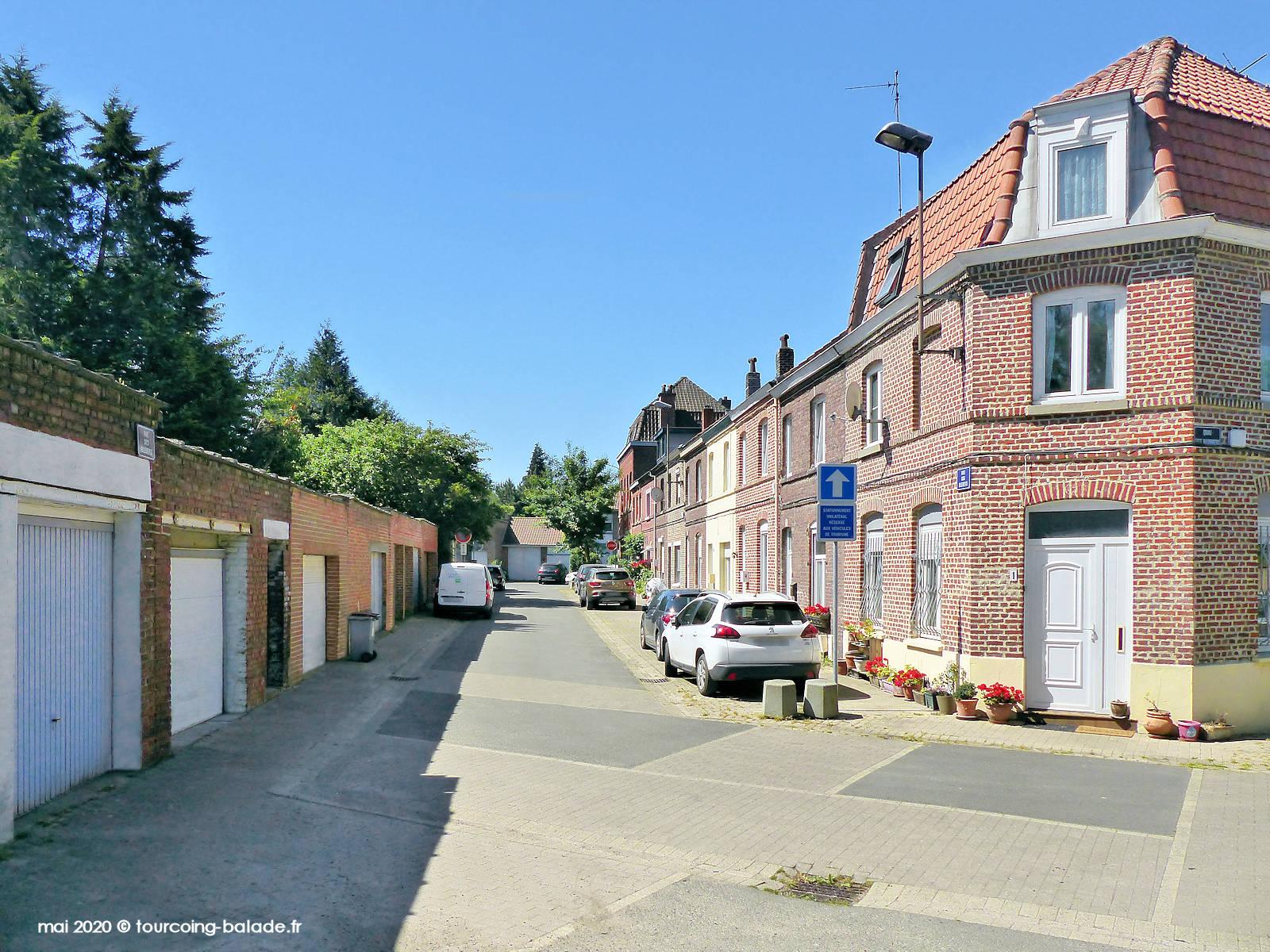 Rue des Bleuets, Tourcoing 2020