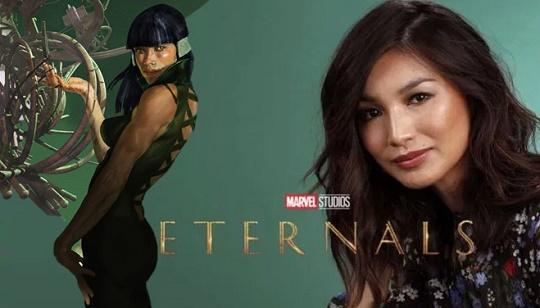 Gemma Chan aparece como Sersi nas gravações d'Os Eternos ~ Universo Marvel  616