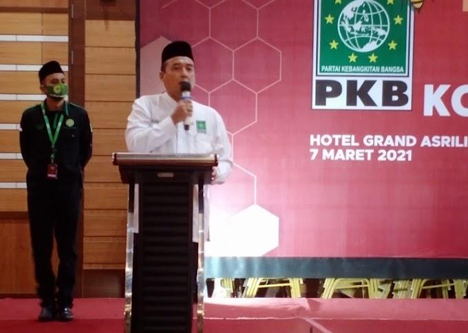 Terpilih Kembali Ketua DPC PKB Kota Bandung, H. Erwin SE, Targetkan Jadi Wali Kota