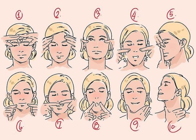 تخسيس الوجه والخدود