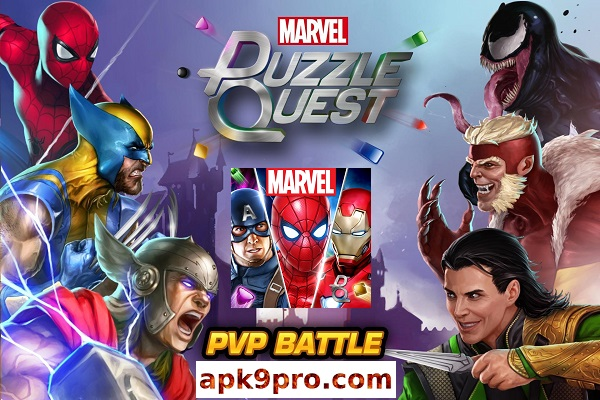 Marvel Puzzle Quest v206.534433 Full Apk + Mod (File size 113 MB) for Android