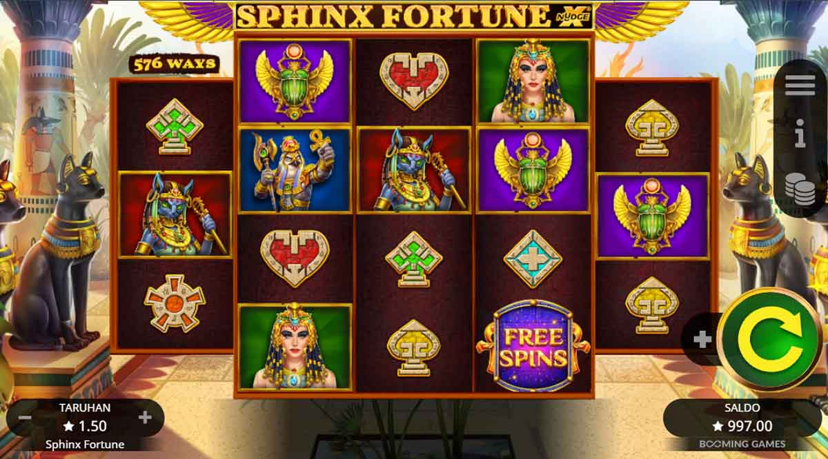 Sphinx Fortune - Demo Slot Online Booming Games Indonesia