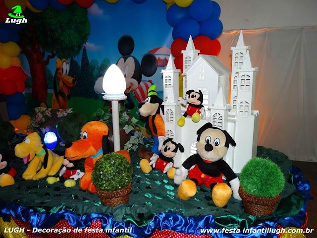 Festa infantil temática Mickey Mouse