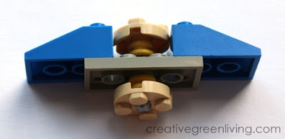 Lego Fidget Spinner DIY instructions - How to make a fidget spinner