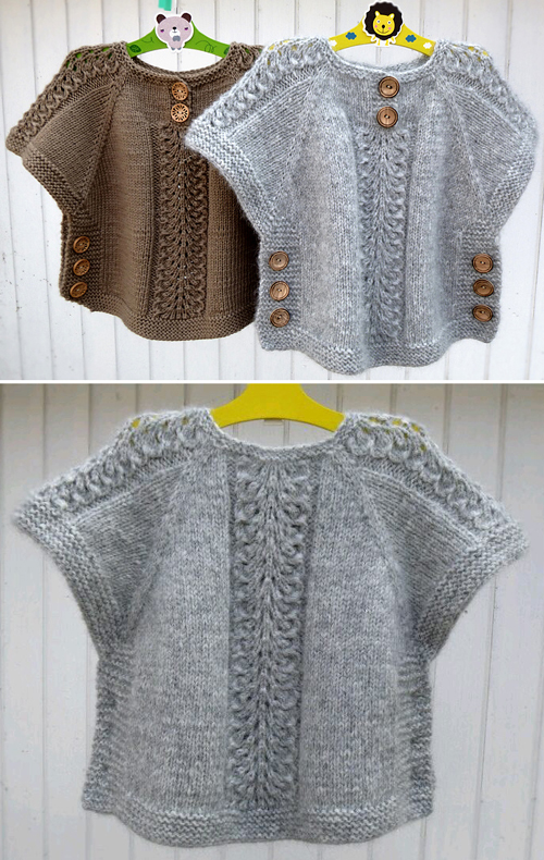 Ea's Poncho - Knitting Pattern