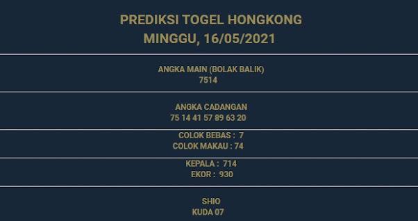 3 - PREDIKSI HONGKONG 16 MEI 2021